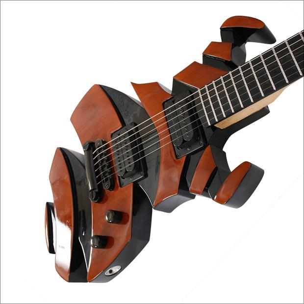 Helix Guitar by Maret Guitars